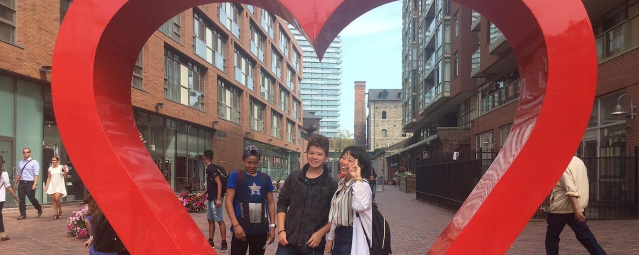 カナダ短期留学体験記