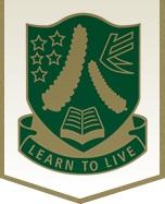 ISI国際学院のニュージーランド高校留学 オークランド  リンフィールド・カレッジ Lynfield College ロゴ