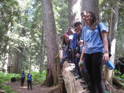 ISI国際学院 中学生高校生の夏休み留学 カナダブリティッシュコロンビア州バンクーバー ウィスラー自然体験型国際キャンプ