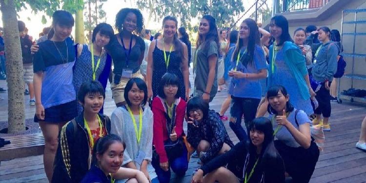 ISI国際学院ジュニア中高生の短期留学ロサンゼルスタムウッドキャンプ