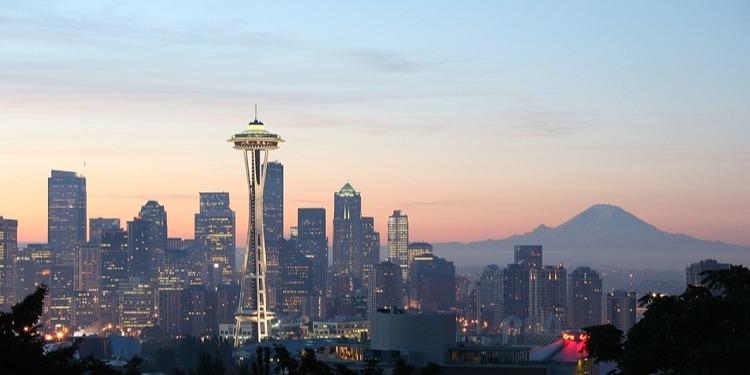 学生社会人シニア大人むけ短期長期語学留学 アメリカ ワシントン州 シアトル 語学学校 都市