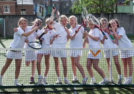 アイルランド高校テニス部