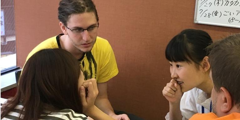 外国人留学生と英語でコミュニケーション&友達になろう。英語力が不安な方も大歓迎。春休みは東京スプリング英語キャンプ2018@池袋