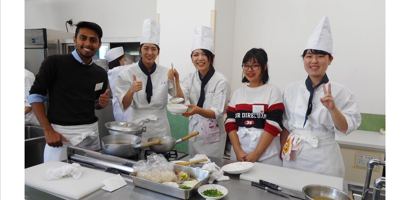 世界の料理講習会(10月)