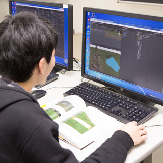 ゲーム・CGデザイン科|ゲームプログラム専攻