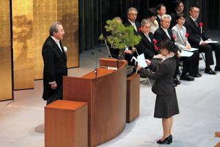 入学者宣誓の様子