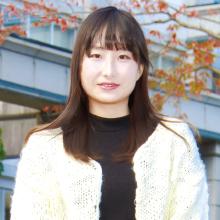 菊池 梨子 さん[ 2年 ]