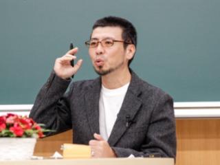 本学教員と鈴木氏のかけあい
