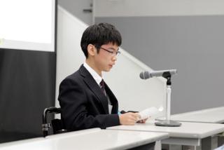 大石彩空さん(聖和学園高2年)