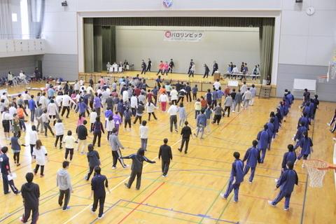 参加者全員で準備体操を行いました。