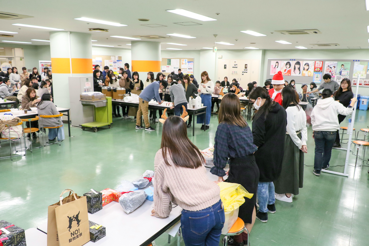 東北文化学園専門学校クリスマスイベントを開催しました
