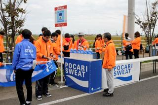 東北・みやぎ復興マラソン2018の 運営ボランティア活動への参加