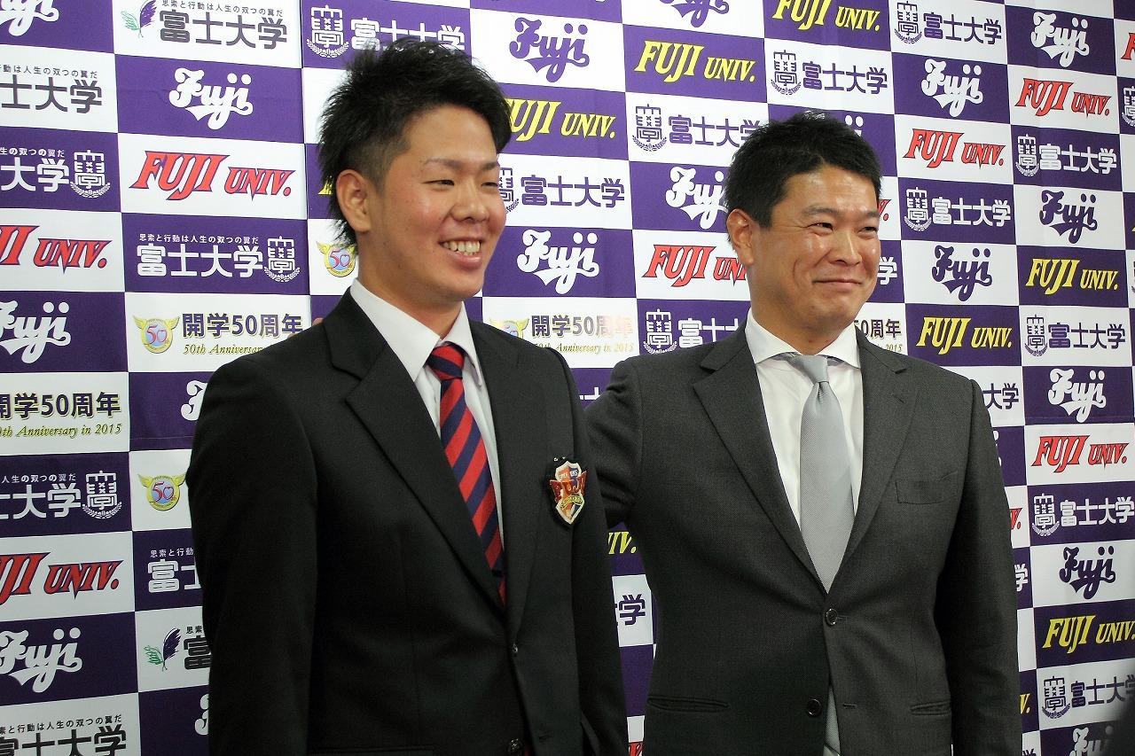 ノーヒットノーランを達成した多和田 真三郎投手