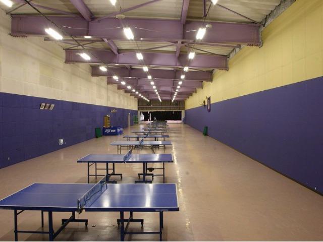 練習環境抜群の卓球場、全国大会へ出場