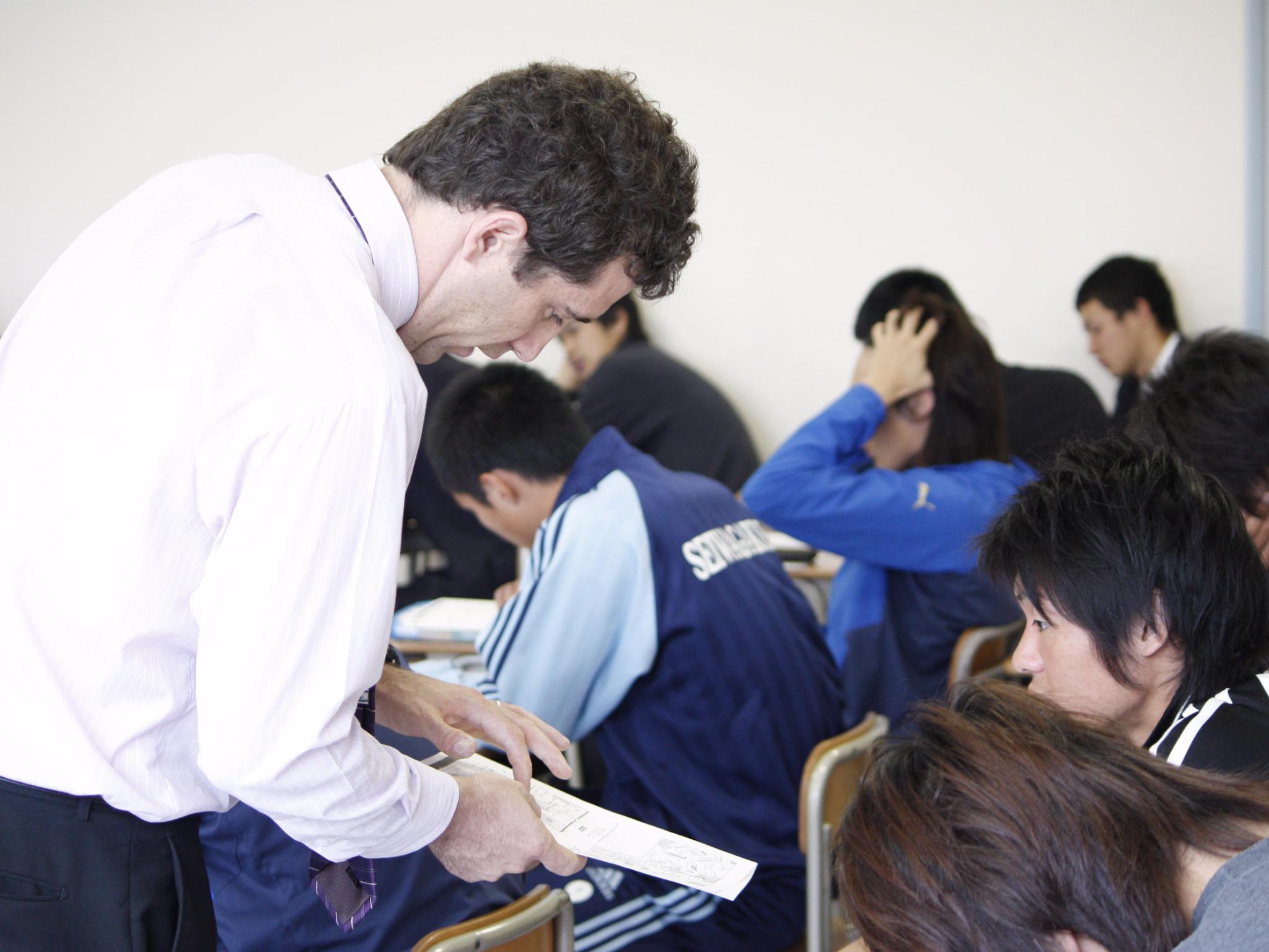 語学実習室