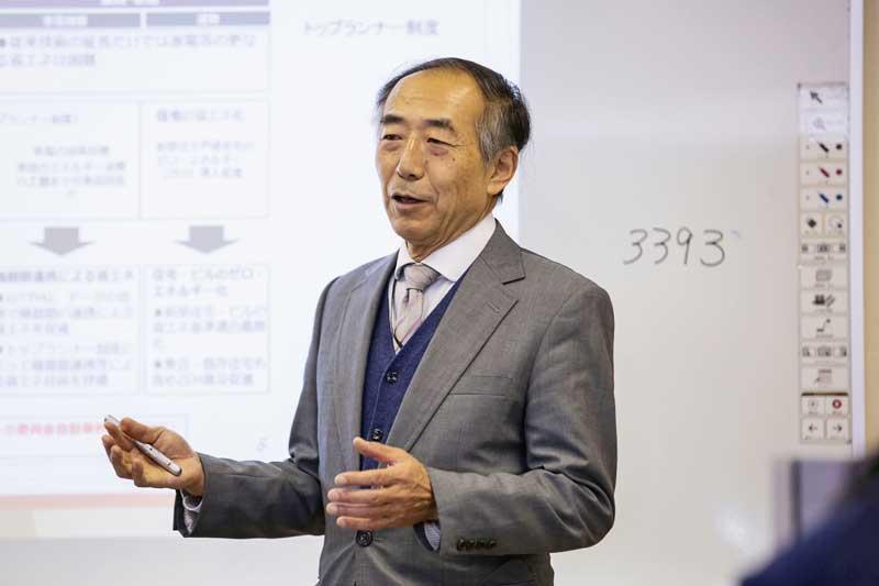 遠藤 元治 教授