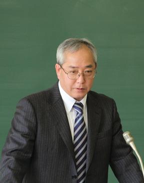 学科長 影山一男教授