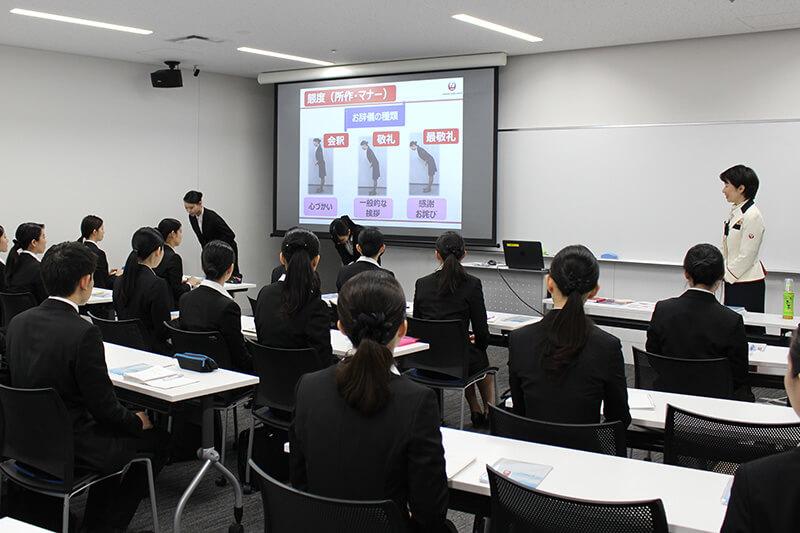 日本航空(JAL)提供「日本のおもてなしを世界の空に」講座