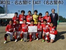 第3位・名古屋FC EAST(名古屋市)
