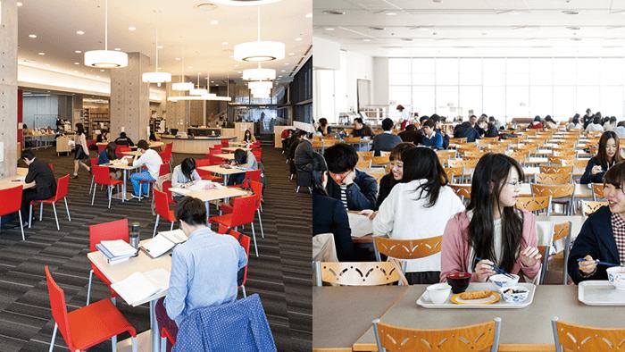 機能的な学生生活環境