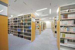 5階法科大学院図書室内
