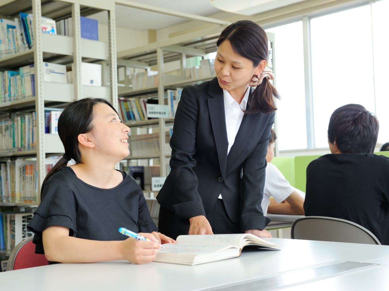専任教員による個別指導