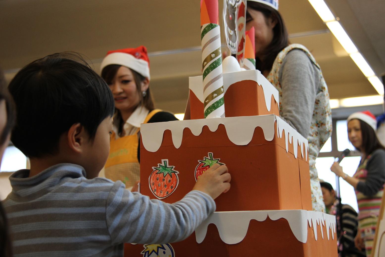 2013年度クリスマス会の様子②