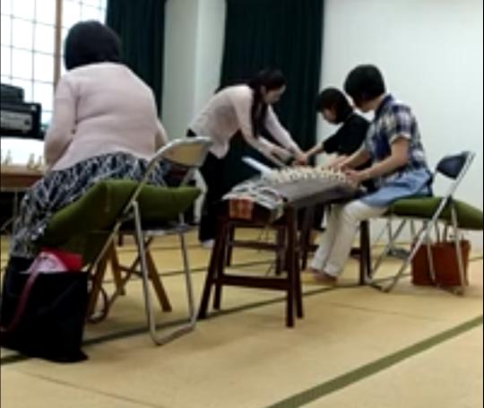 片岡リサ先生の指導