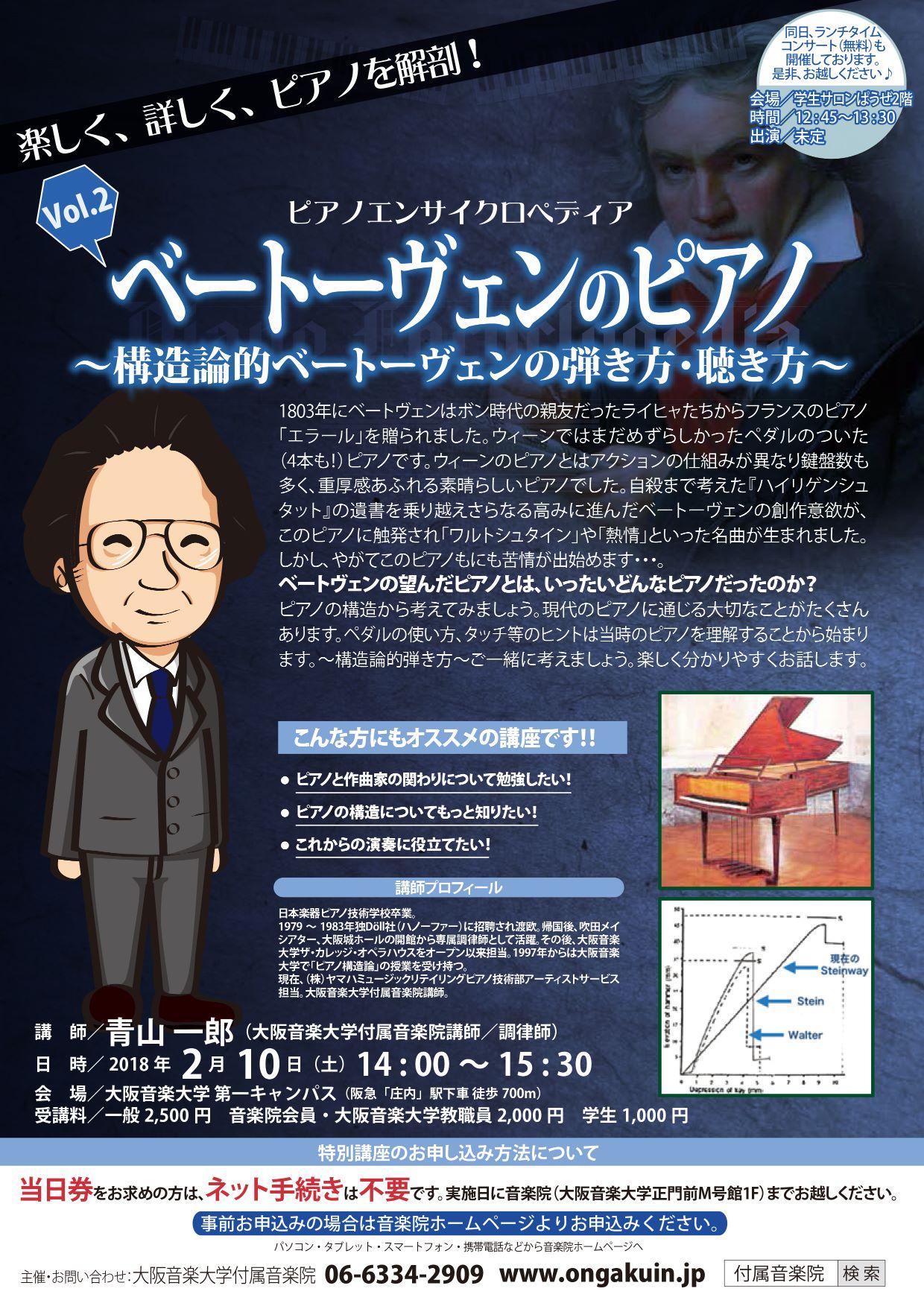青山一郎のピアノエンサイクロペディア「ベートーヴェンのピアノ」