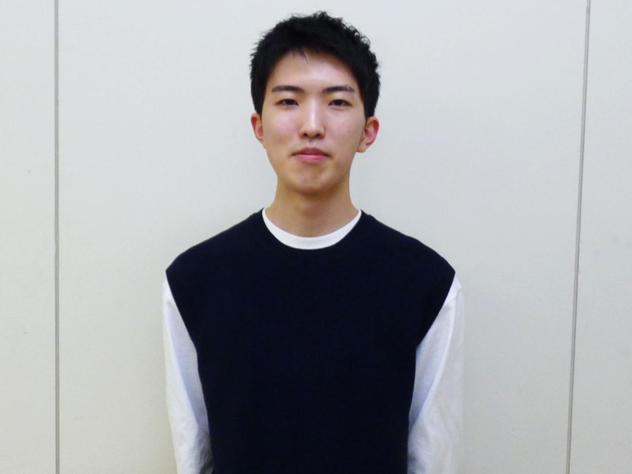 大学併修科 吉田 翔さん