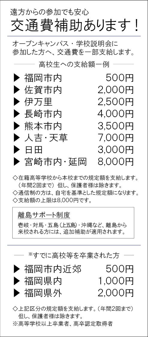 交通費補助