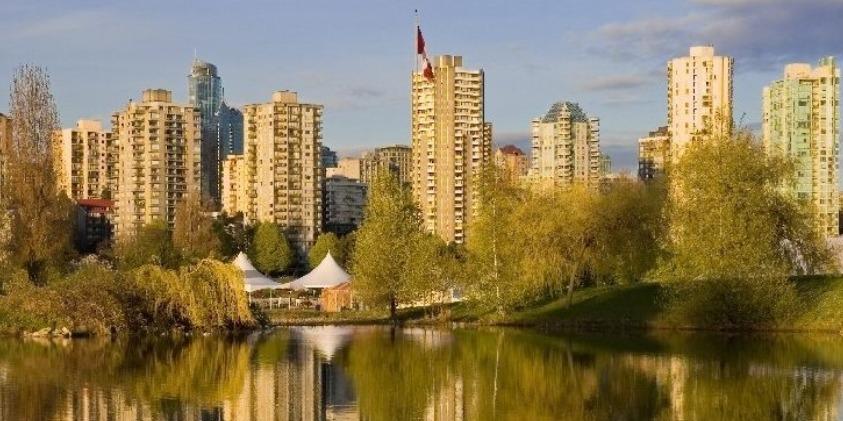 中高生夏休み留学 サマーキャンプ カナダ・バンクーバー留学 景色 街並み カナダ バンクーバー
