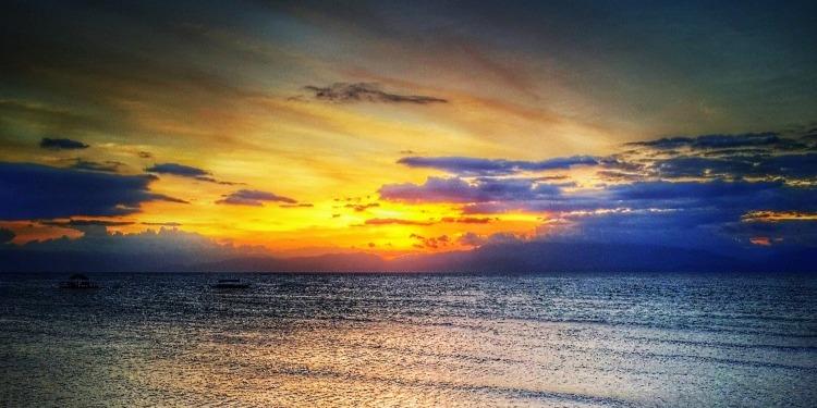学生社会人シニア大人むけ短期長期語学留学 フィリピン・セブ 海風景