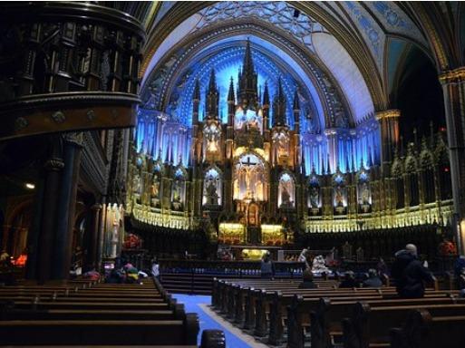 ISI国際学院 留学カウンセラーブログ 教会 キリスト教 カナダ モントリオール 語学留学 Canada Montreal