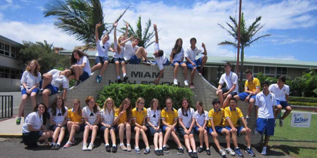 ISI国際学院 高校留学 オーストラリア留学 Miami State High School