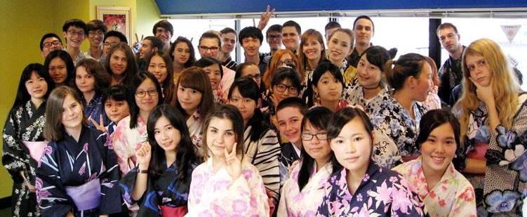 東京サマー英語キャンプ2018 実践 英語 国際交流ツアー 浴衣 サマースクール
