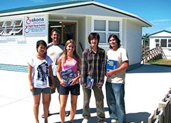 中学生高校生むけニュージーランド高校留学 ターム1年卒業留学 フィティアンガ Evakona Education エバコナ語学学校 高校留学準備コース