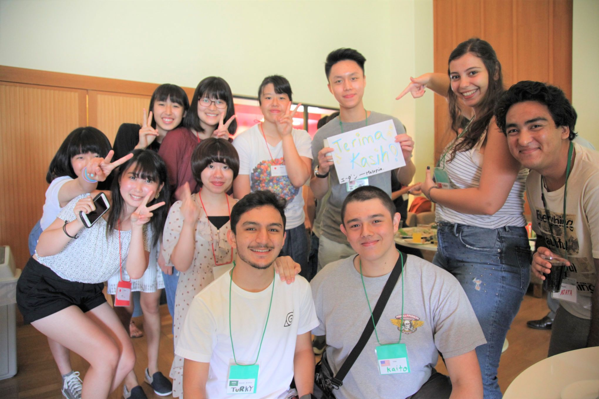 ISIおもてなし英語サマースクール2019留学生とアクティビティ 観光 交流 グローバル視野