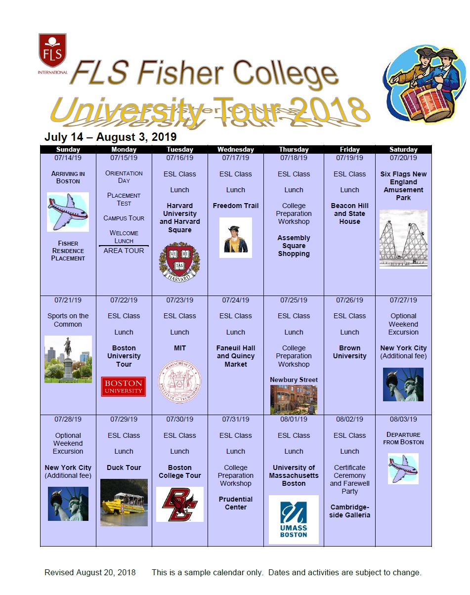 FLSボストン有名大学ツアー