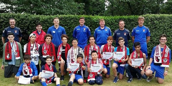 中高生の夏休み短期留学 イギリス・ボーンマス。ヨーロッパで人気のリゾートにある語学学校で英語&サッカーレッスン。ホームステイ、Anglo-Continental
