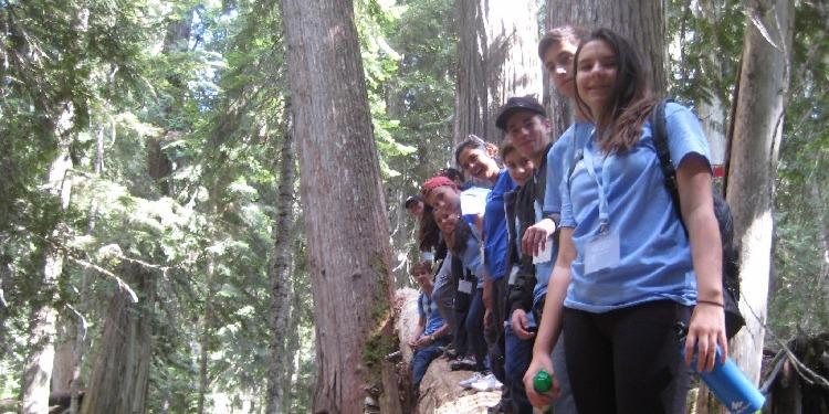 ISI国際学院ジュニア中高生の短期留学タムウッドウィスラーキャンプ