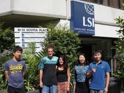 学生社会人シニア大人むけ短期長期語学留学 ニュージーランド オークランド 語学学校 LSI