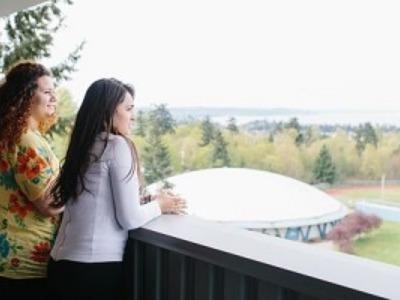 大学生 専門学校生 夏休み短期語学留学 アメリカ シアトル 英語レッスン カレッジ編入進学準備 ホームステイレジデンス KAPLANカプラン Seattle ハイラインカレッジ