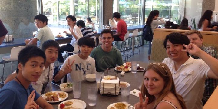 ISI国際学院 ジュニア 中高生の短期留学 アメリカ・サンディエゴ アメリカ人高校生と交流