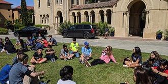 ISI国際学院ジュニア中高生短期留学 スタンフォード大学Super Camp