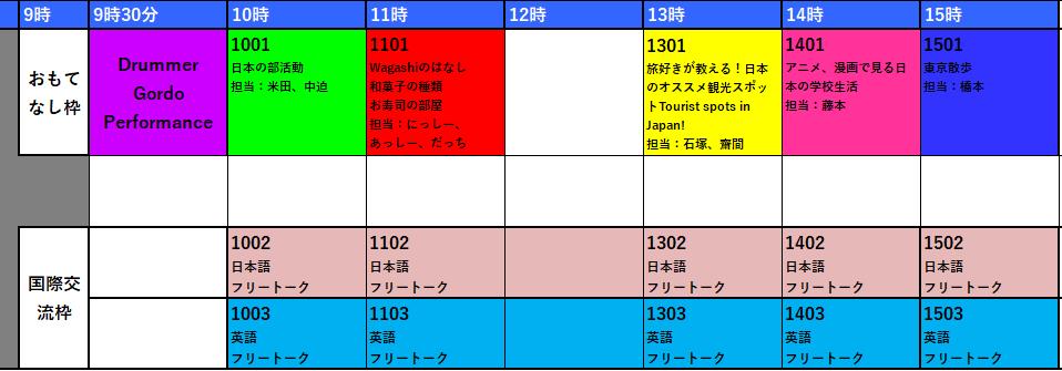 0809スケジュール