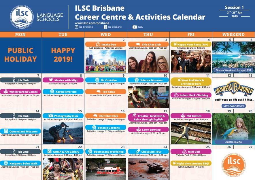 ISI国際学院 語学留学 ワーホリ オーストラリア ブリスベン ILSC 学生 社会人 短期 長期 一般英語 IELTS ケンブリッジ テスト対策 ホームステイ レジデンス アクティビティ