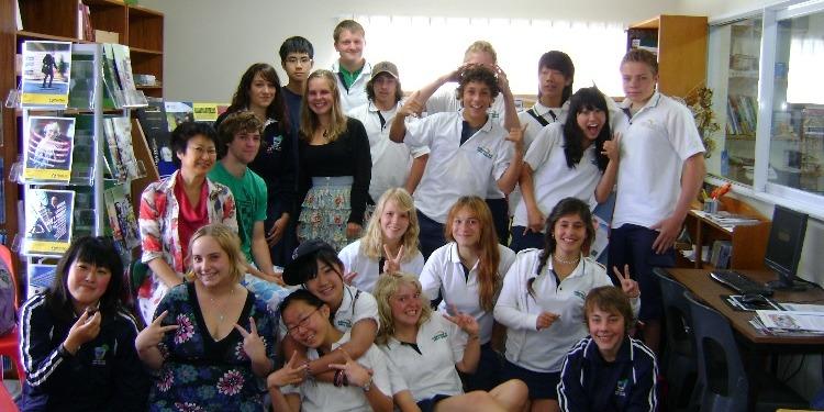 ISI国際学院ジュニア中高生の短期留学 EVAKONA現地校