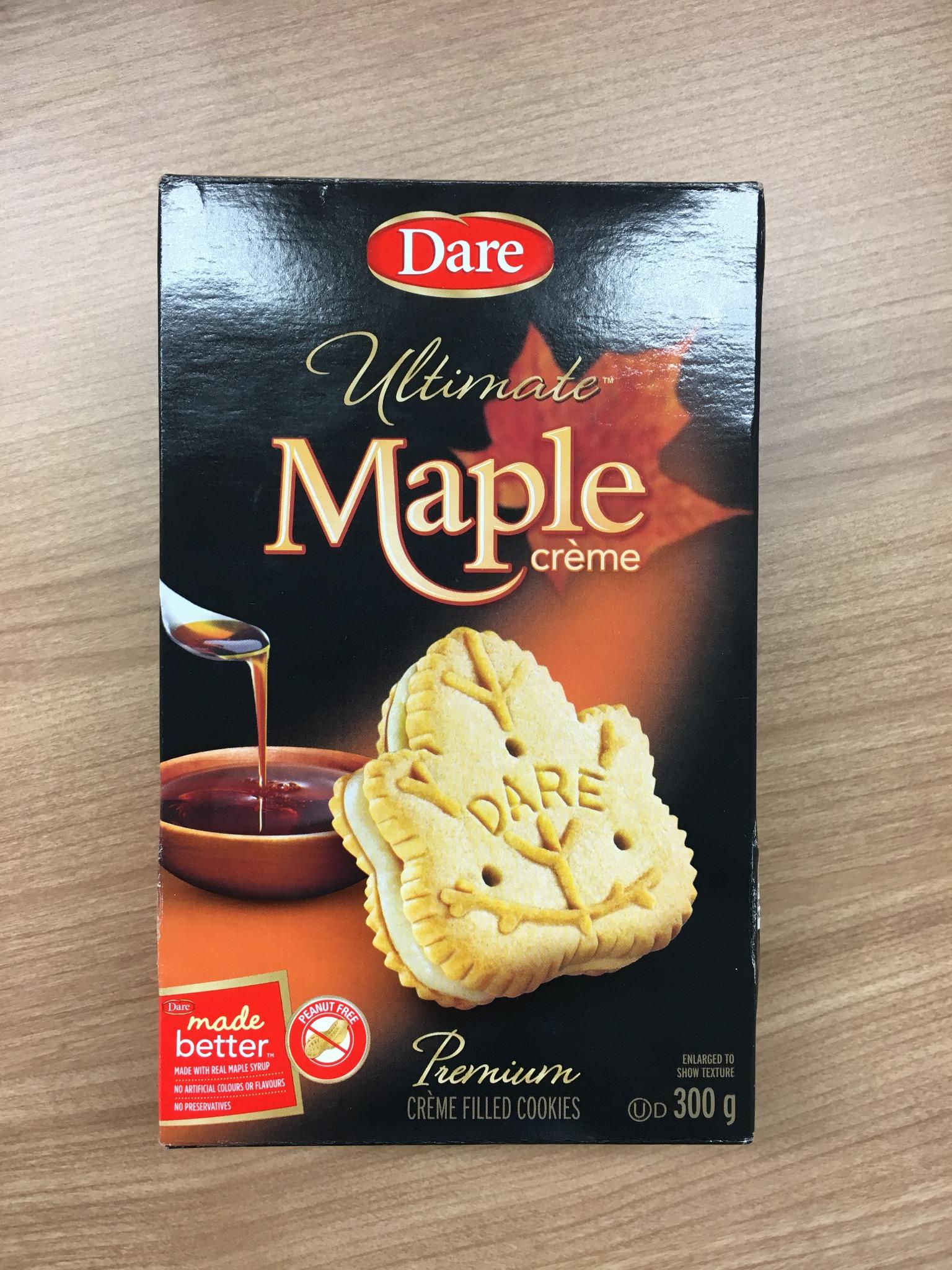 ISI国際学院 留学カウンセラーブログ カナダ お土産 メープルクッキー