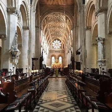 イギリスの古い教会